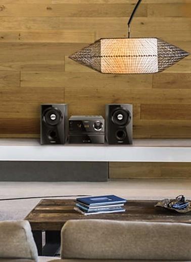 Philips MCM1350/12 Müzik Seti Siyah